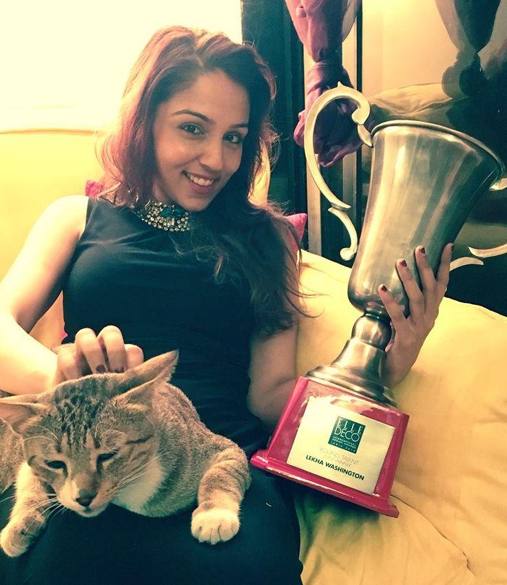 EDIDA Young Talent 2015 Award winner, Lekha Washington.