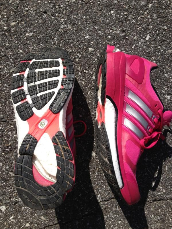 Adidas Adistar Boost Review - http://www.runningshoesguru.com/2013/08/adidas-adistar-boost-review/ - The Adidas Adistar Boost is a good mid-weight option for neutral runners who enjoy a soft, but very responsive ride. The shoe is firm and supportive enough for mild over-pronators.