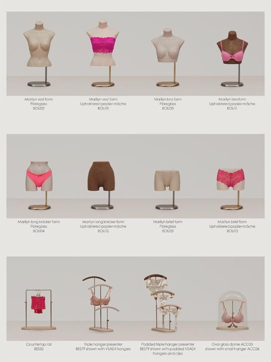 boudoir - female bustforms