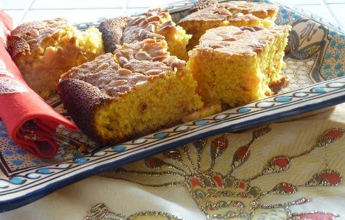 Le sfouf, le gâteau du Liban