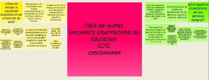 Blog del Encuentro Internacional de Educación 2012 - 2013 - Fundación Telefónica | Emoción, sentimientos, cerebro: claves para una educación integral en la era digital