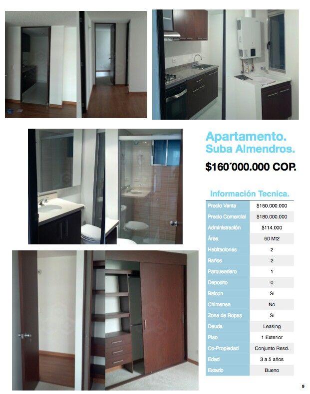 Apartamentos en venta Suba, Bogotá, Colombia. Informes Marco Quijano 320 325 5311 maquijano@grupoazai.com