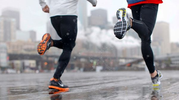 In this installment of Runner vs Nature, we take a look at running in the rain. Read 10 tips that will help you have a more positive running experience, even in inclement weather. #RunningWarehouse #runchat