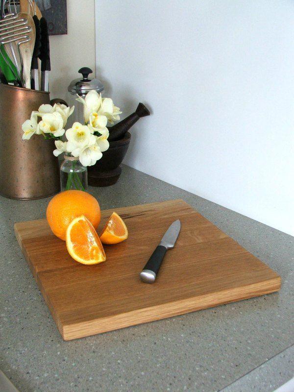 Square Oak Chopping Boards