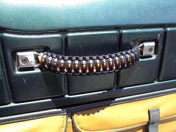 Jeep Wrangler Custom Paracord Door Handles
