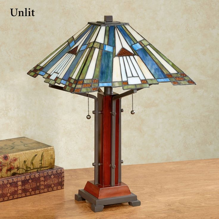 El Camino Southwest Stained Glass Table Lamp Stained Glass Table Lamps Table Lamp Tiffany