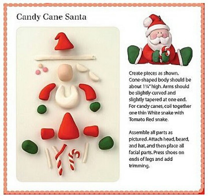 Pinterest Christmas Clay Crafts