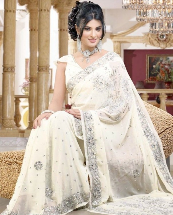 Bridal Saree 2012 Is Considered To Be The Most Sophisticated Traditional Indian Outfit Of Women Indians Believe Wearing A Part