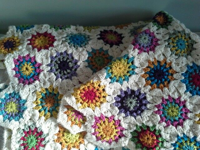 The blanket that started the addiction!