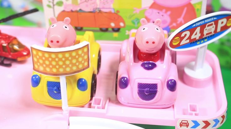 Peppa Pig English Full Episodes Compilation - Peppa Pig Playing Slider i...