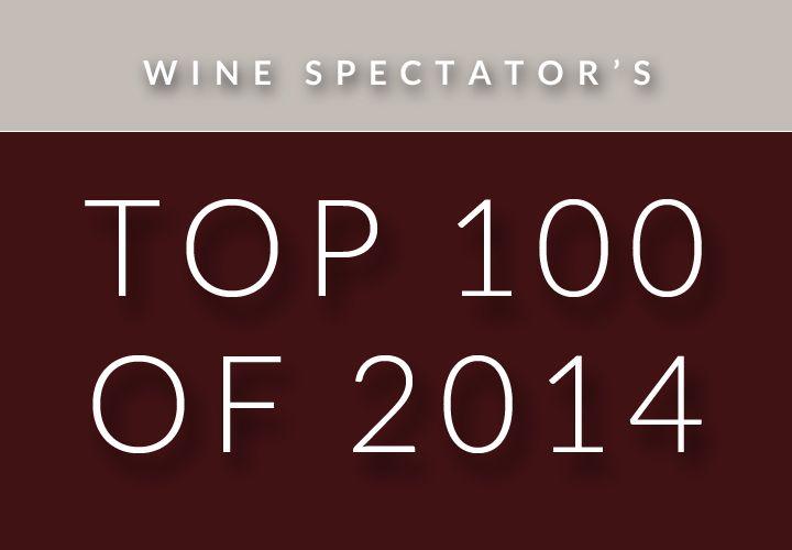 Top 100 of 2014 - wines