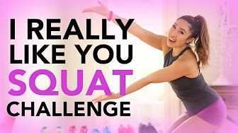 Call Me Maybe Mighty Squat Challenge Workout - YouTube