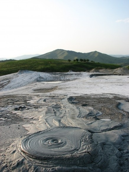 The Berca Mud Volcanoes are a geological and botanical reservation located in the Berca commune in the #Buzău County in #Romania. Its most spectacular feature is the mud volcanoes, small volcano-shaped structures typically a few metres high caused by the eruption of mud and natural gases