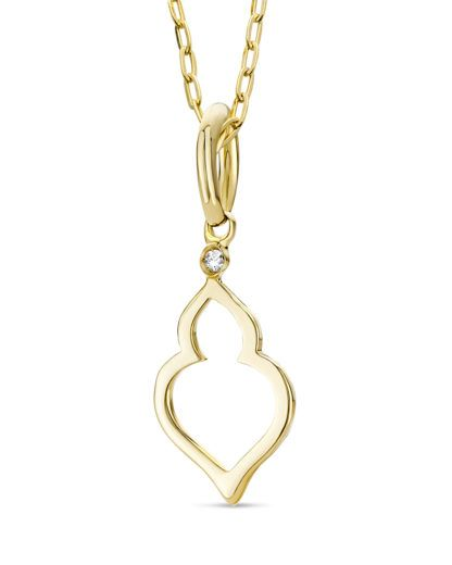 VALERIA Halskette aus Gold mit Diamant online | VALMANO