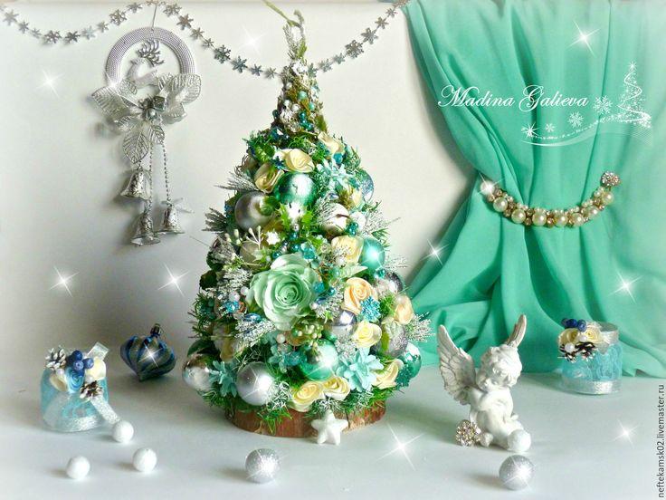 Купить Мятная елочка!!! - мятный, елочка новогодняя, елочка ручной работы, елка новогодняя