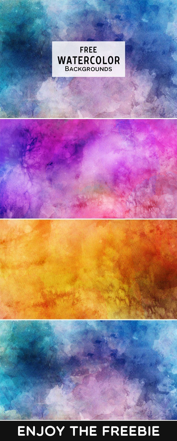 3 Free Watercolor Backgrounds Photoshop Living Watercolor