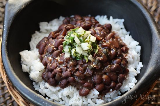 Brazilian Black Beans - loaded with fiber - try this over white rice.