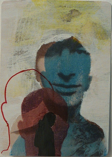 steven atcPrints Illustration, Assemblage Collage, Steven Atc, Anti Portraits, Mixed Media, Art Ideas, 2011 Mixed