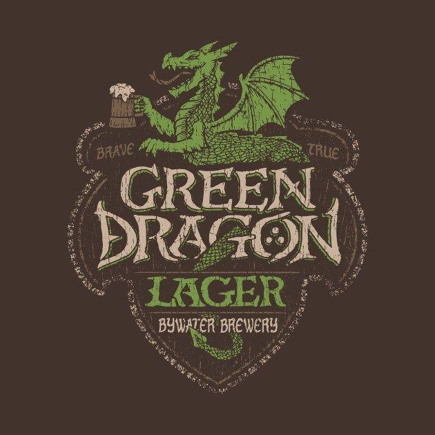 Lager del Dragón Verde. Diseño de Cory Freeman | El Anillo Único