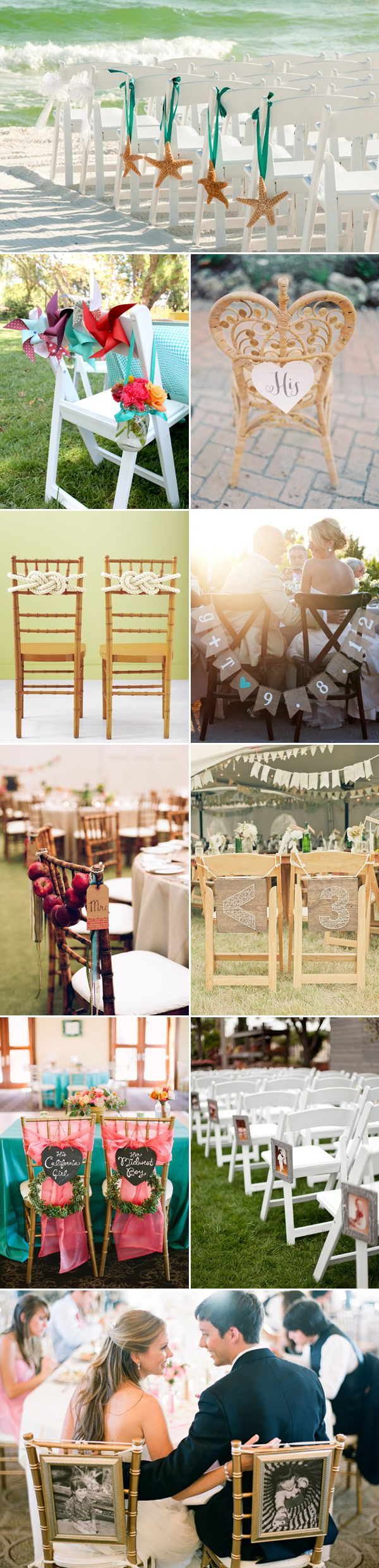 33 Summer Wedding Chair Décor Ideas