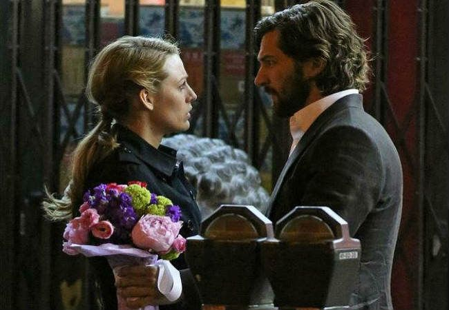 "Romantic Moment of the Week: The Age of Adaline and Book Flowers; Did anyone else love the scene when Ellis gives Adaline books with flowers in the title (IE: Daisy Miller) as a ""bouquet?"" I loved it."