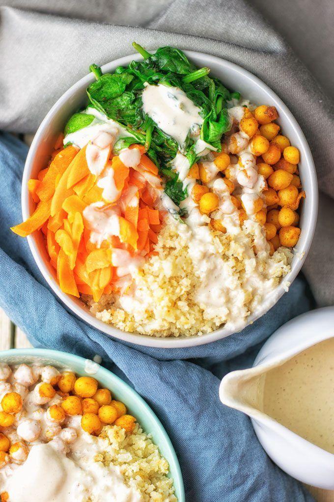 Cauliflower Rice Buddha Bowl