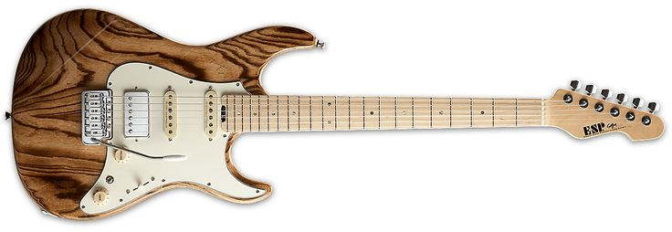 "ESP Snapper FR Electric Guitar in Burner Finish Specifications: Bolt-on Construction 25.5"" Scale Swamp Ash Body Maple Neck Maple Fingerboard 42mm Bone Nut U to V Neck Contour 22 Jumbo Frets Chrome Hardware Gotoh Locking Tuners ESP FLICKER-III bridge ESP Custom Lab CL-P-S-2 (N) ESP Cu..."