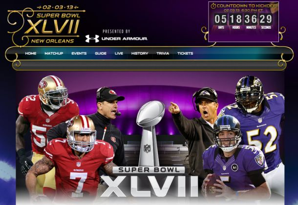 Super Bowl XLVII: Online streaming, apps, and more