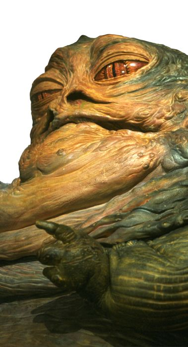 Jabba the Hutt.  A loathsome slug of a gangster, Jabba the Hutt was the preeminent kingpin of crime in the Outer Rim Territories. Basing his operations out of Tatooine, the Hutt had his pudgy fingers in a number of criminal activities -- slavery, gunrunning, spice-smuggling, extortion and more.