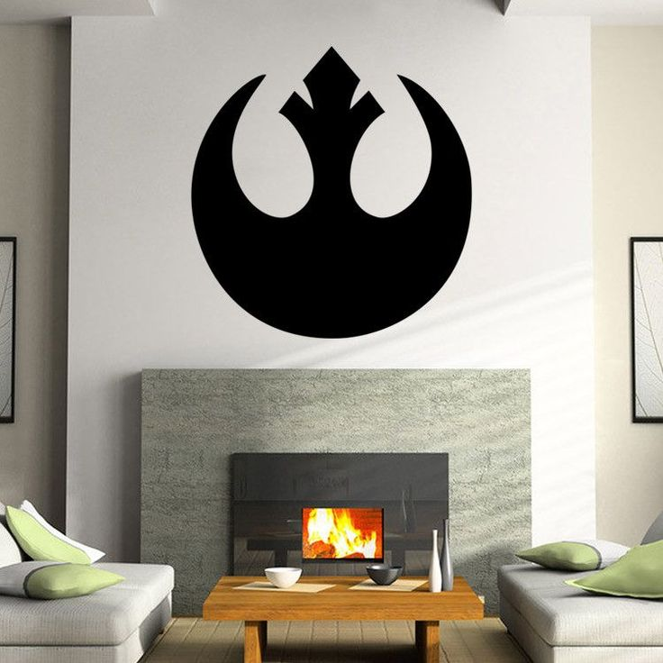 STAR WARS Stormtrooper Darth Vader Vinyl Wall Stickers Wall Decals Home Decor  Wall Art Decal