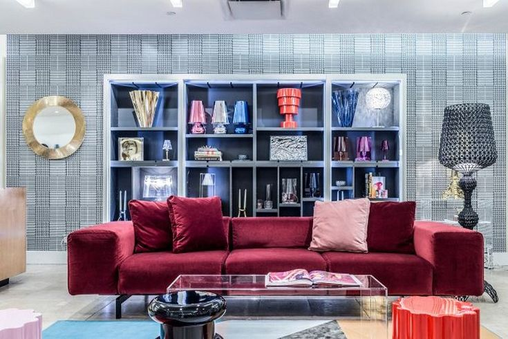 Garage Italia Customs Reinterprets Kartell at Barneys New York  #interiordesign #homedecor #luxurydesign #architects #interiordesigner #trends #modernlamps #luxurylighting #homedecor
