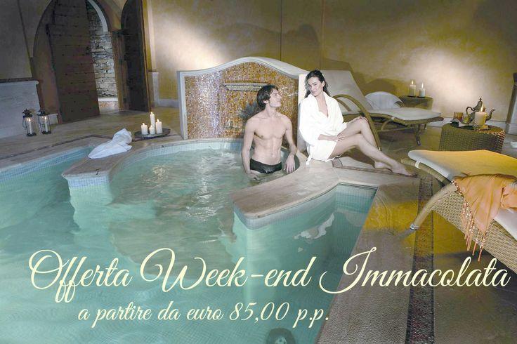#week-end #immacolata #benessere #relax a partire da € 85,00 p.p. @Mary Powers Wallis #hotel Baia Verde #Catania