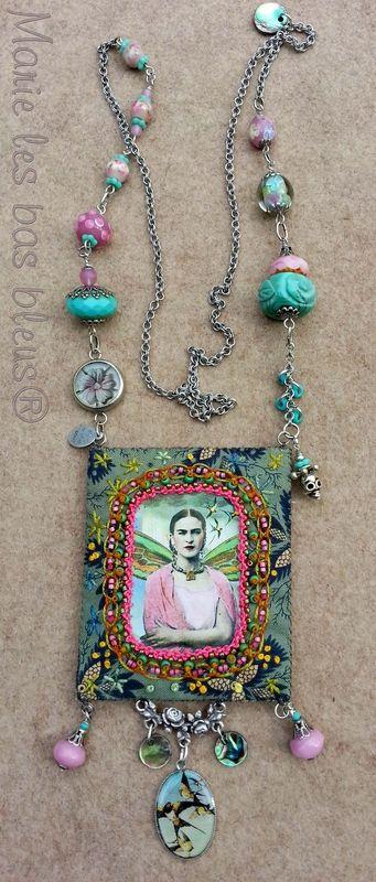 Un  hommage charmant à Frida Kalho                                                                                                                                                     Plus