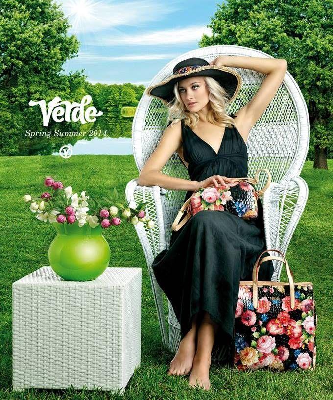 Το palettino.gr σας παρουσιάζει τη νέα της καμπάνια για την Άνοιξη-Καλοκαίρι 2014 της «Verde bags & accessories»