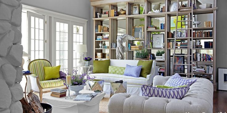 141 best images about Bookshelves on Pinterest   House ...
