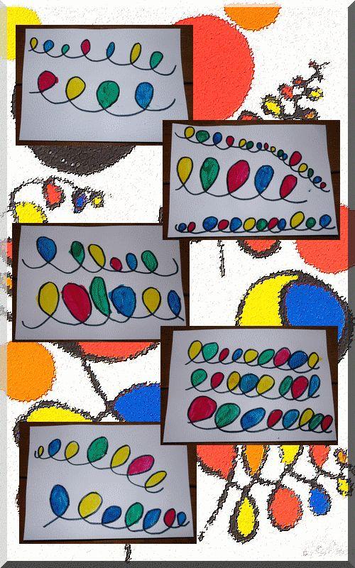 Des boucles à la manière de Calder