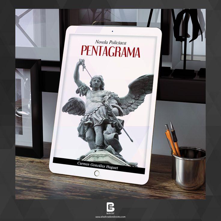 PENTAGRAMA: NOVELA POLICÍACA CARMEN GONZÁLEZ HUGUET Tenemos a la pareja clásica de detectives, Jaime Soto y Camila Sánchez, que se aburren en las dependencias policiales mientras esperan la llamada que los llevará a enfrentarse al asesino de turno. Encuéntralo: http://ebooksnuevo.businesscatalyst.com/books/pentagrama-novela-policiaca #ebooks #books