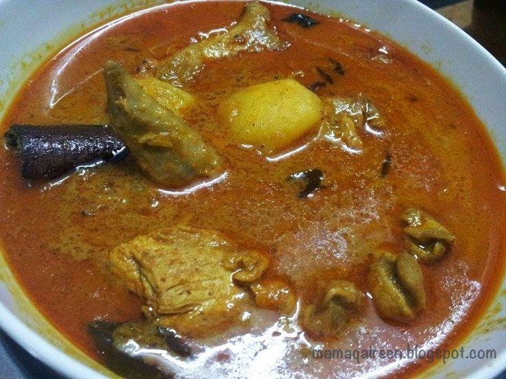 MamaQaireen Blog: Resepi Kari Ayam Sedap dan Mudah | Recipes | Pinterest | Blog