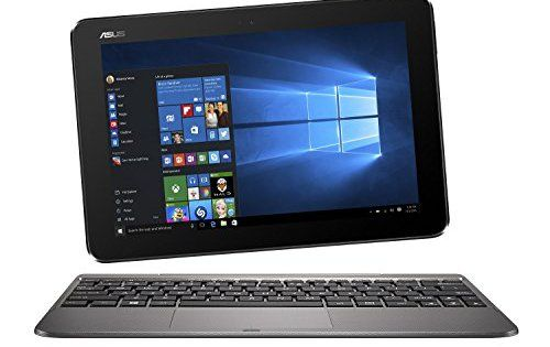 Asus T101HA-GR030T PC portable 2-en-1 Tactile 10.1″ Métal (Intel Atom, 4 Go de RAM, SSD 128 Go, Windows 10, Garantie 2 ans): Ecran 10.1…