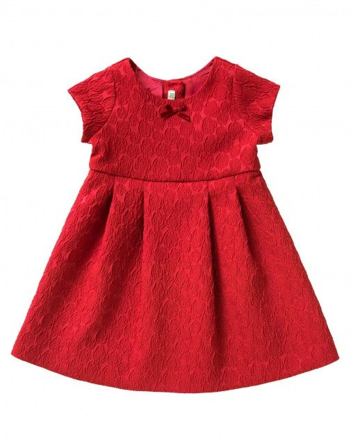 Shop Jacquard dress Red for DRESSES at the official United Colors of Benetton online shop.