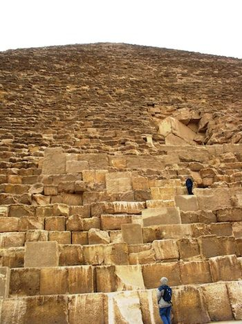 an overview of the ancient egyptian pyramid the great pyramid of khufu The latest engineering related news and articles from  the northernmost and oldest pyramid of the group was built for khufu  the great pyramid's core is.