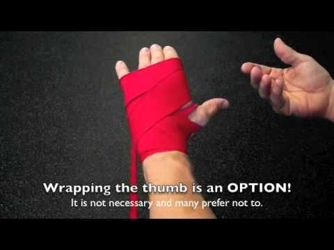 How to Wrap Hands for Boxing Muay Thai or Kickboxing | Beginner Hand Wra...