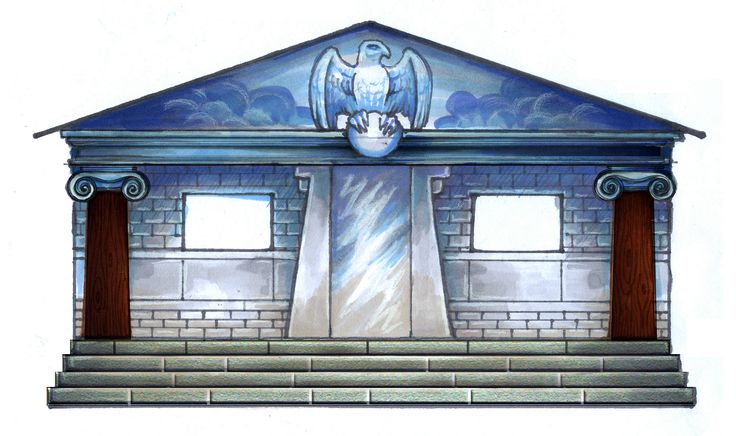 Cabin 1-Zeus God of the sky and king of the gods. Comment if this is your cabin. (1/10)