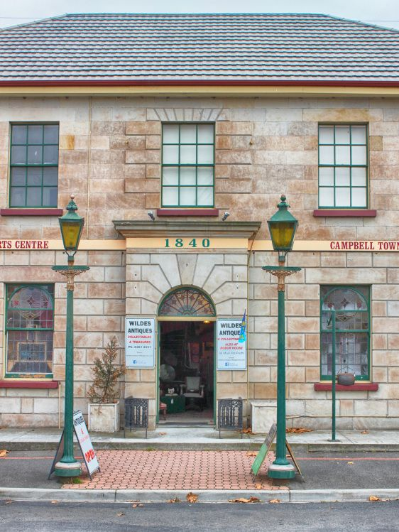 Website about the historic Campbell Town, Tasmania