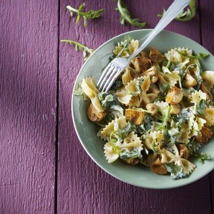 Jan Linders - Pasta met champignons en rucola
