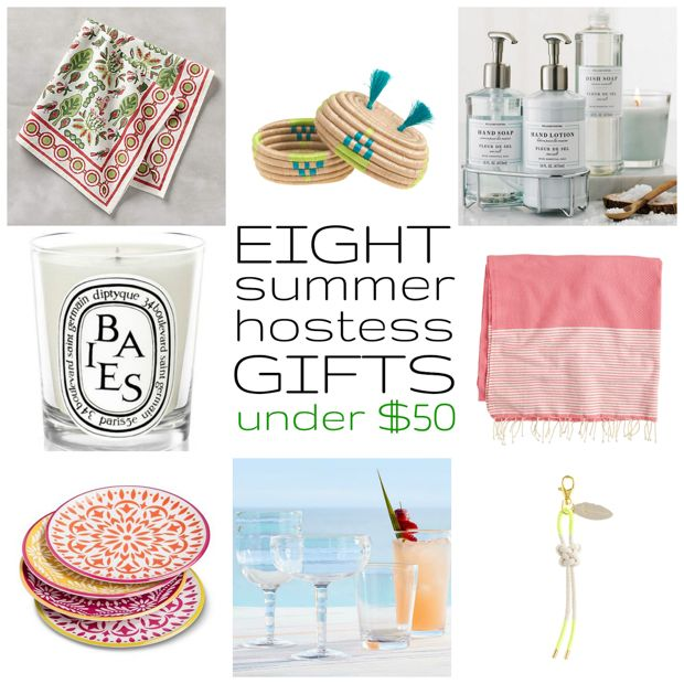 Eight summer hostess gifts under $50