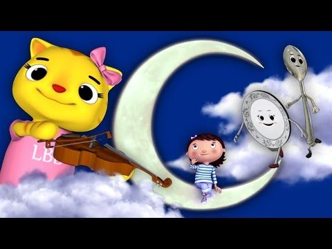 Hey Diddle Diddle | Nursery Rhymes | HD Version from LittleBabyBum - YouTube