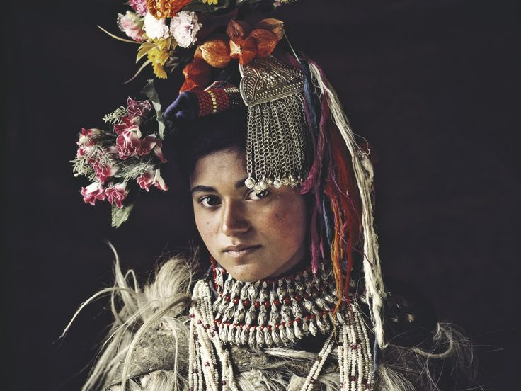 A Tribe member from the Drokpa, of India and Pakistan