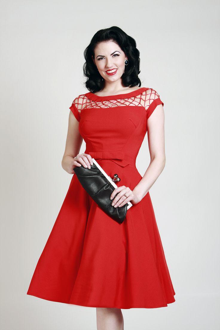 Alika Circle Red | Bettie Page Clothing