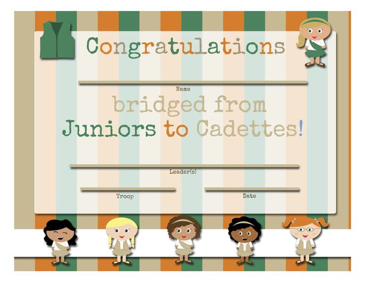 23 best images about Bridging Juniors to cadettes on ...